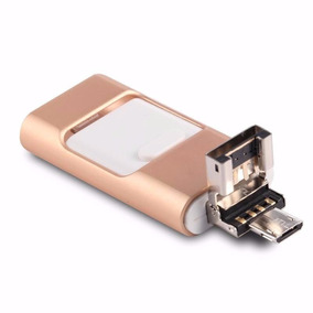 Pendrive 3 En 1 Para Android Iphone Tables Y Pc 128 Gb