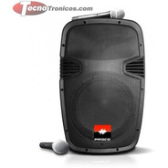 Parlante Proco 12  Bluetooth Usb + 2 Microfonos Inalambrico