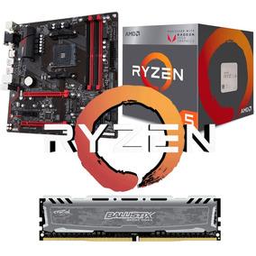 Combo Am4 Ryzen 5 2400g + Gigabyte Ab350m + 8gb Rx Vega 11