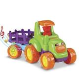 Trator Infantil Baby Truck - Funções Som E Luz - Promoção
