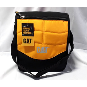 Pack 2 Bolsos Morral Cat Caterpillar-resiste Maltratos