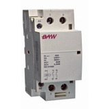 Contactor Bipolar 40a Modular Din 220v Baw - Cm40-20m