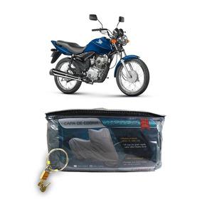 Capa Com Cadeado Para Cobrir Honda Cg 125 Fan Esi/150 P(204)