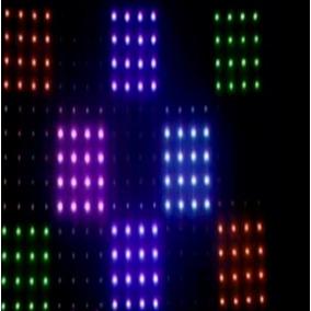 Cortina Led Grafica 2,50x4 - Led Rgb Pixel - 73 Efeitos