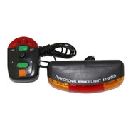 Kit Segurança P/ Bicicleta Brake Light C/ Seta E Buzina