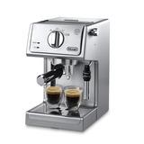 Cafetera Acero Inoxidable Con 15 Bares Espresso Delonghi