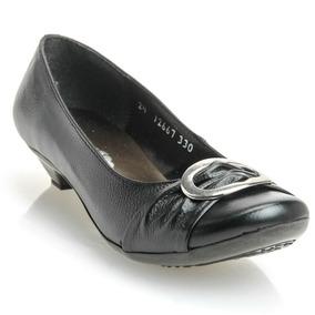 Zapatos De Piel Umbrella Color Negro Para Dama Talla 22.5mex