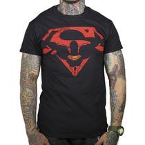 King Monster Superman Logo Silueta