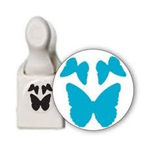 Scrapbook Perforadora 3 Mariposas Papel Punch Cortar Decora