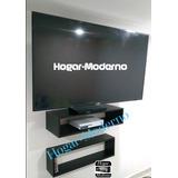 Mueble Flotante Para Tv + Repisa