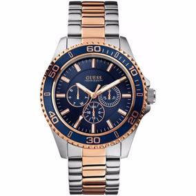 Reloj Guess W0172g3 Hombre Multifuncion Cristal Envio Gratis