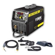Máquina De Solda Inversora Tork Mig Mma Tig 200a 3 Em 1 220v