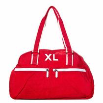Xl Extra Large Sandro Bolso Color Rojo Cartera Para Mujer
