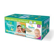 Kit Pampers Fraldas Confort Sec M + Premium Care M