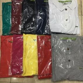 Camisa Polo Jacare Tamanho Extra Grande Xgg Masculina G2 G3