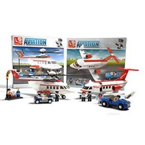 Juguete Aeropuerto De Ciudad De Aviación Avión Jet Privado