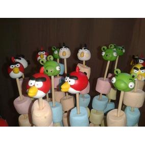 Angry Birds Pinches Golosineros En Porcelana Fria