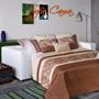 Sillon Sofa Cama 2 Plazas 3 Cuerpos Con Colchón Premium