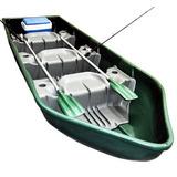 Barco Pescador 3 Lugares 2 Remos Pesca Nautica Camping