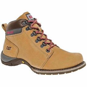 Bota Hicker Caterpillar Dama 307062 Camel 22 Al 26