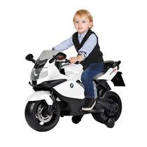 Moto Infantil Bmw Elétrica K1300 Branca Menino Bandeirante