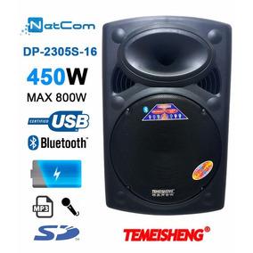 Corneta Amplificada Temeisheng A2305s Blu Mic Sd Bat Mas
