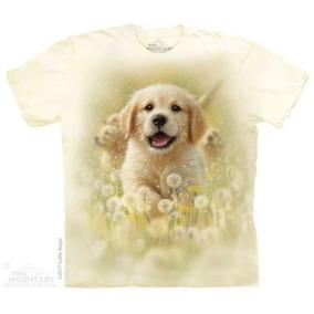 Remera The Mountain Golden Puppy - A Pedido_exkarg