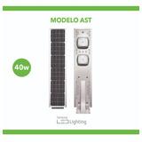 Luminarias Solares All-in-one 40w Todo En Uno