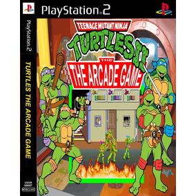 Tartarugas Ninja The Arcade Game Playstation 2 - Fliperama