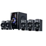 Home Theater 5.1 Parlantes Pc Bluetooth Tv Usb Fm Noga Niza