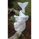 estatua de ceramica para el jardin