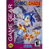 Sonic Chaos Retro Gamer Sega Game Gear Día Del Niño Niña