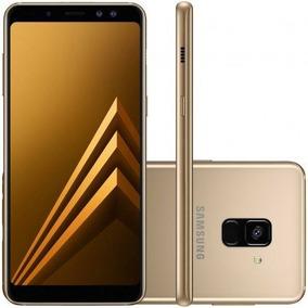 Samsung Galaxy A8+ 2018 64gb A730f Dourado Desbloqueado