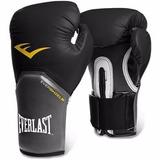 Luva Boxe Muay Thai Everlast Elite 12 Oz Preta Frete Gratis
