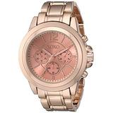 Las Mujeres De Xoxo Xo5591 Rose Dorado Del Reloj Pulsera