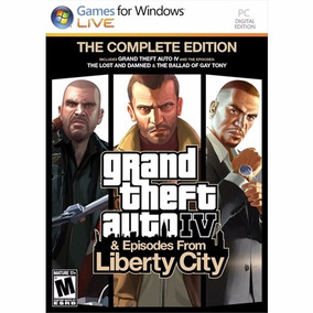 Gta 4 Gta Iv Complete Edition Liberty City Fisico Pc Envios