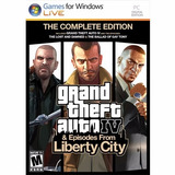 Gta 4 Gta Iv Complete Edition Liberty City Fisico Pc Envios