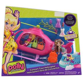 Polly Pocket Helicoptero Gira De Conciertos