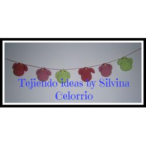 Artesania Al Crochet Amigurumis, Guirnalda De Pajaritos