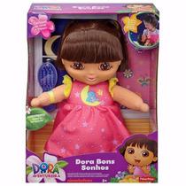 Boneca Dora Aventureira Bons Sonhos - Fisher Price Cbf70