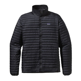 Campera De Plumas Patagonia Mens Down Jacket Large Black