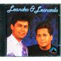 Cd Leandro E Leonardo 1991 - Novo (cd Lacrado)