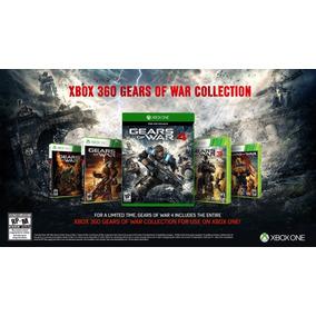 Gears Of War 1,2,3 Just Men Y 4 Para Xbox One Envío Gratis