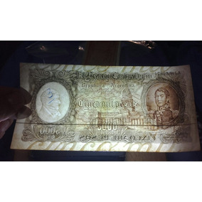 Antiguo Billete De 5 Mil M$n. Serie A