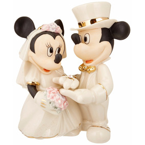 Mickey Mouse Figura De Novios Porcelana Mimi Envio Gratis Ng
