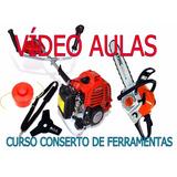 Curso Conserto De Roçadeira E Motosserra Em Vídeo 7 Dvds