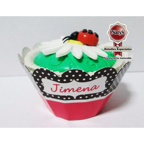 Capacillos Para Cupcake Personalizados Paquete Con 30 Piezas