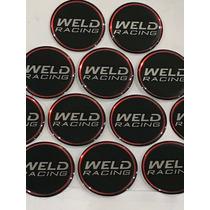 Adesivo Calota Weld Racing Magnun / Roda Ag 42mm Diametro
