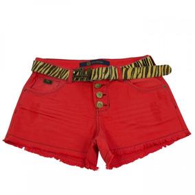 Shorts Jeans Feminino Ana Hickmann Confort Mid Ah121