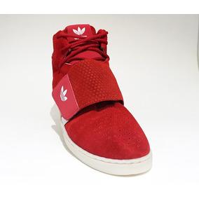 Bota adidas Tubular Invader Vermelho E Branco 1428